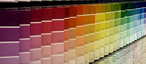 Choose from a rainbow of colors at your home improvement center!