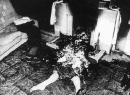 Actual photo of Spontaneous Human Combustion (Mary Reeser)