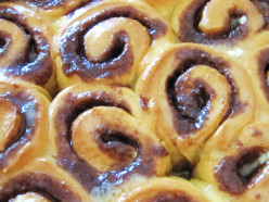 Cinnamon Rolls with Cream Cheese Icing. Plus Bonus Recipes for Maple Nut and Caramel Pecan Variations.