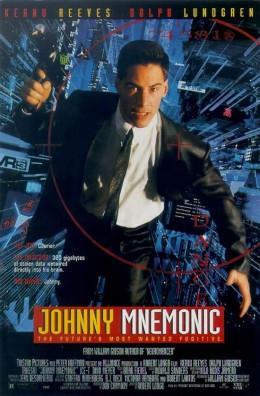 Johnny Mnemonic (1995) poster