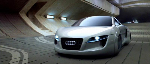 The Audi RSQ in I Robot (2004)