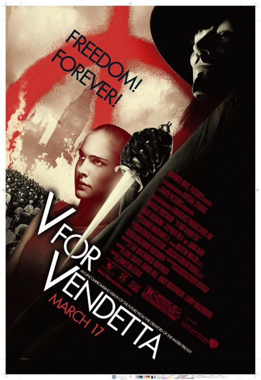V for Vendetta (2006) poster