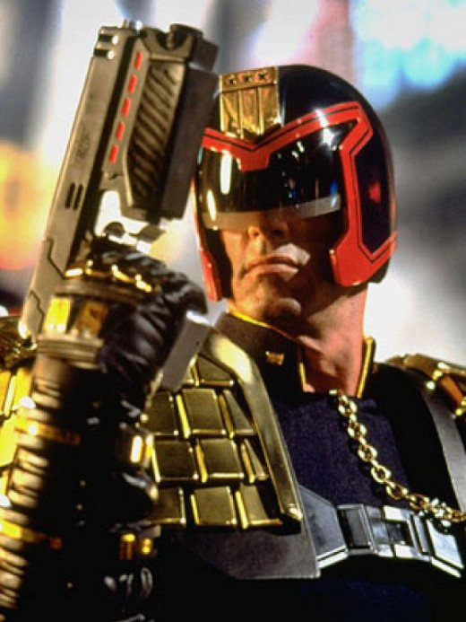 Sylvester Stallone as Judge Dredd (1995)
