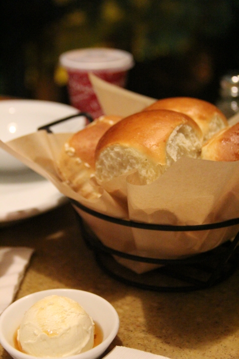 Even the bread is really good!