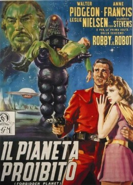 Forbidden Planet (1956) poster