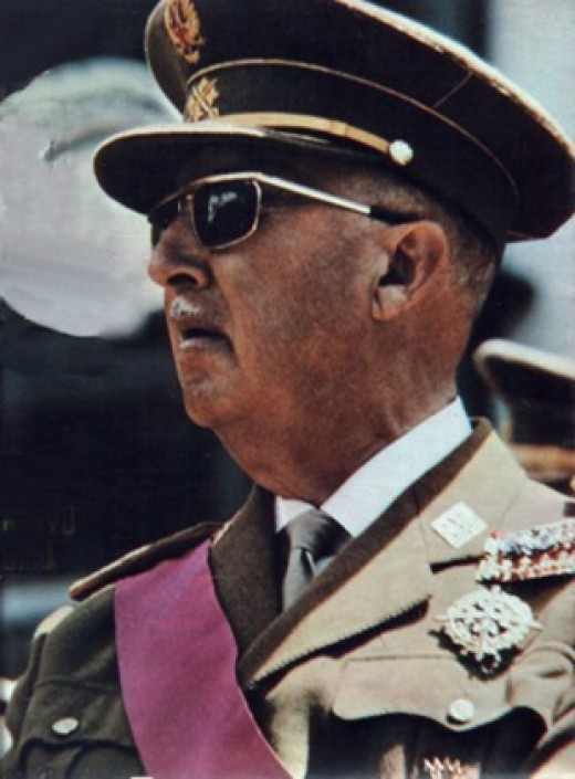 Francisco Franco was a Spanish general who helped destroy the Spanish Second Republic in 1939. He remained in power until his death in 1975.