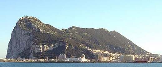 Gibraltar is one of the last bastions of British colonialism. To this day ownership of the territory is disputed between Spain and Britain.