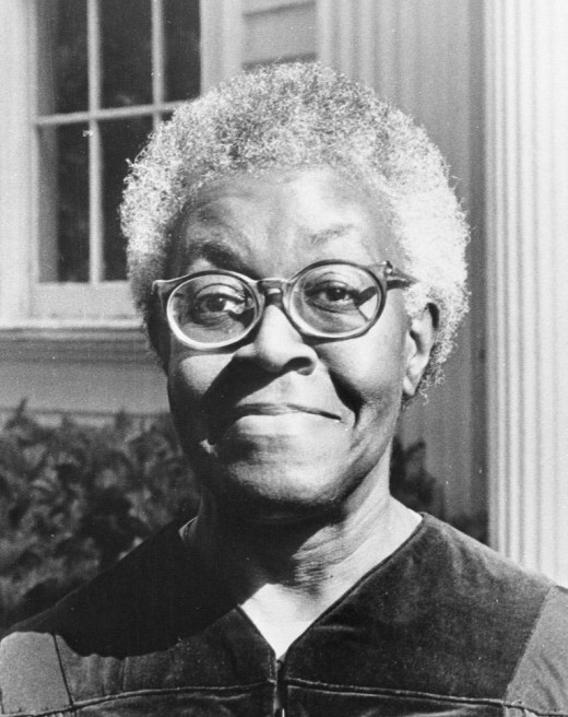 The brilliant poet, Gwendolyn Brooks