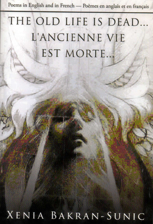 "This is the front cover of ""The Old Life is Dead...L'Ancienne Vie Est Morte"" I have on my bookshelf."