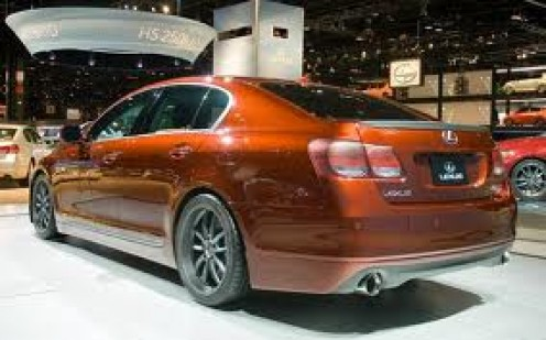 The Lexus GS350 is a roomy six cylinder car that is luxurious indeed. They come in two different sizes and styles.