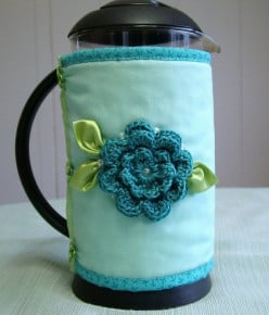 Coffee Cozies and Coffee Sleeves to Make and Use