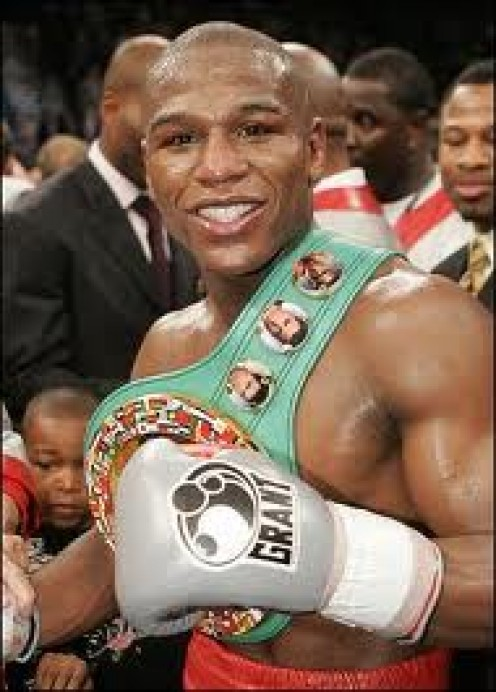 Floyd Mayweather, Jr. is one of boxing's best defensive fighters in history. He is rarely hit by more than one punch at a time and he has deadly accurate counters.