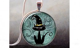 BLACK CAT MAGIC...HOME-MADE JEWELRY ON ETSY