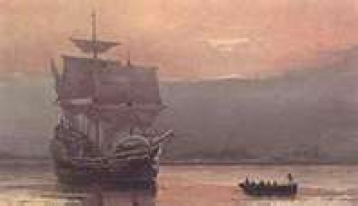 The Mayflower Landing