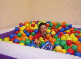 Ball Pools are very relaxing