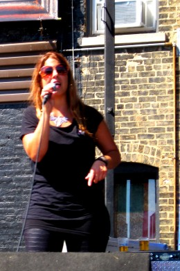 Lead singer Tamara Mooshey
