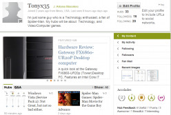 My Thoughts on the New HubPages Profile Design/Layout: The first few hours