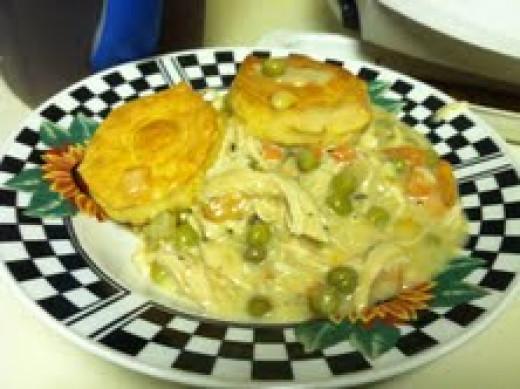 Chicken Pot Pie - Delicious!