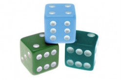 what is the expected sum of the numbers that appear when three fair dice are rolled?
