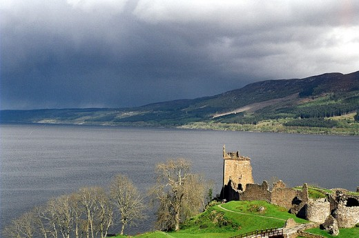 Loch Ness and Urquhart Castle: a scenic spot to visit on your vacation, but not so great for finding 21st Century Plesiosaurs.