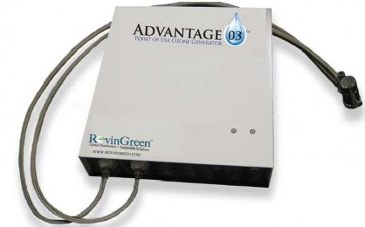 Advantage 03 Point of Use Water Filter and Ozone Generator
