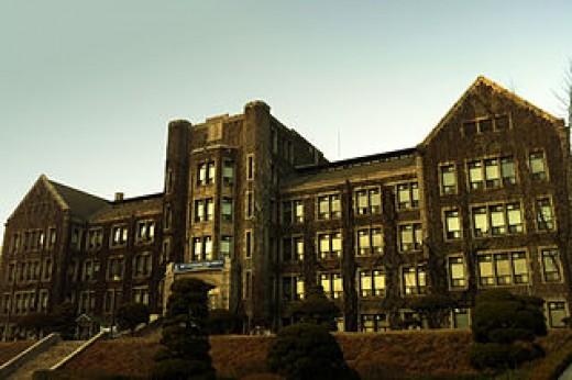 Yonhee Hall at Yonsei University in Seoul