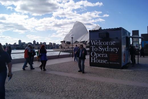 Sydney Opera House Entrance