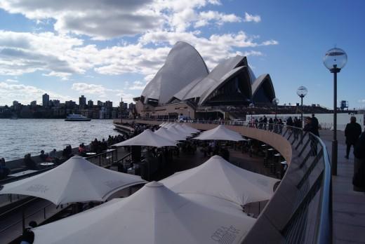 Cafes near Sydney Opera House