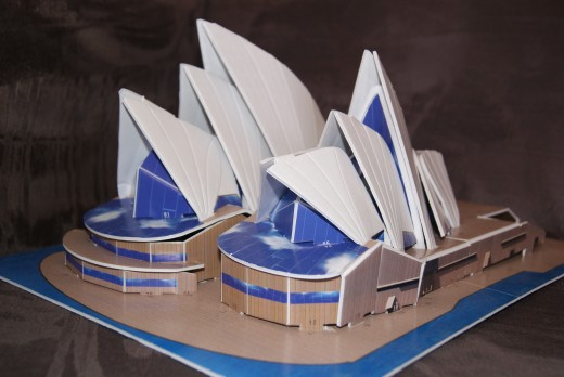 Model of Sydney Opera House