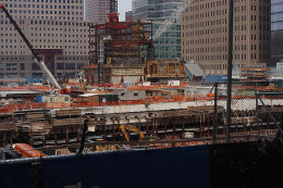Building One World Trade Center in 2009