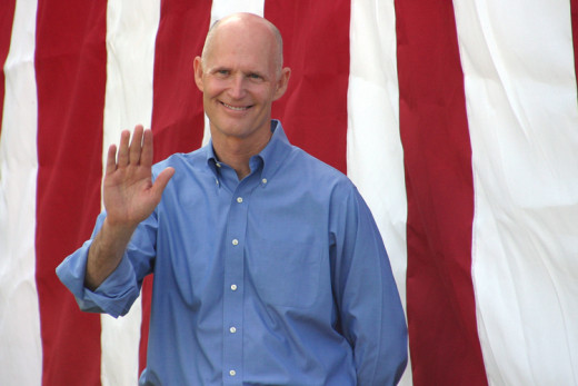 Governor Rick Scott who signed into law, mandatory drug testing in order to receive welfare funds.
