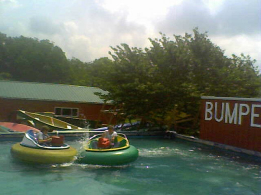 Bumper Boats Are Just Part of the Fun at the KY Action Park