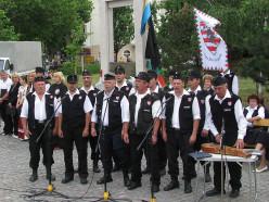 The Magyar Gárda (Hungarian Guard) in Békéscsaba on June 4 2009, Trianon-day