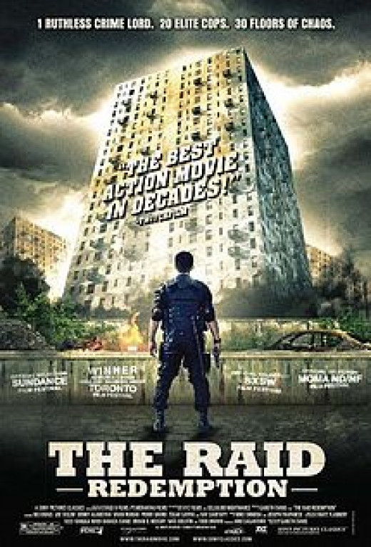 Poster for The Raid: Redemption