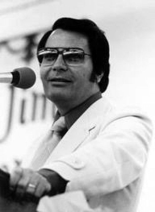 Jim jones was able to convince people to follow him. He was a cult leader and a horrible man  indeed. He had a set of rules that were his own and they made no sense whatsoever.