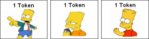 Token Economy Examples: Specific Tokens (Simpsons)