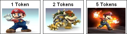 Token Economy Examples: Specific Tokens (Mario)