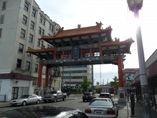 Gateway to Seattle's Chinatown