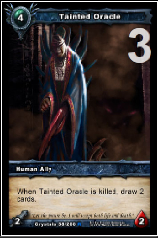 Tainted Oracles are in your deck to be killed so that you can draw more cards.