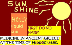 HIPPOCRATES GAVE IT HIS STAMP OF APPROVAL