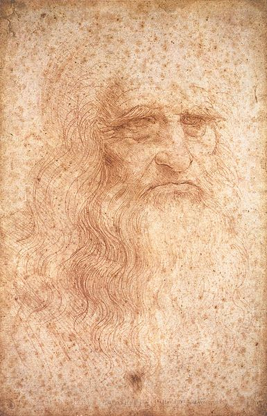 Self-portrait of Leonardo da Vinci