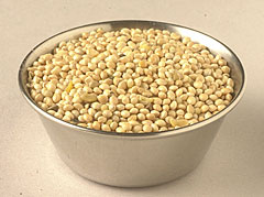 white millet bird seed, an eco-friendly alternative to rice. The birds will pick up the mess for you