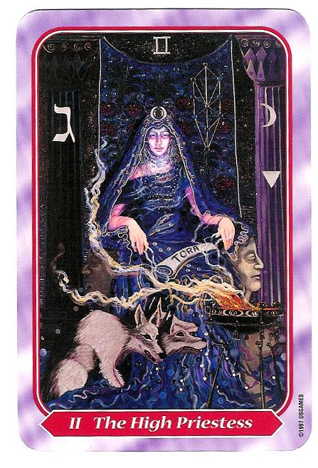 Spiral Deck High Priestess