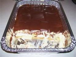 Chocolate Eclair Dessert Cake