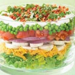 Scrumptious Seven Layer Salad
