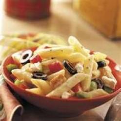 Greek Style Pasta Salad