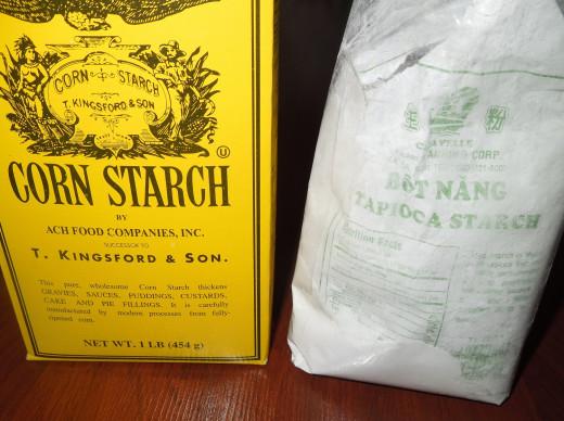 Tapioca Starch vs Corn Starch