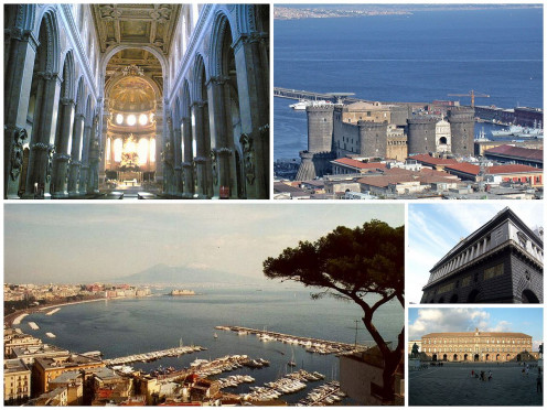 Naples Collage