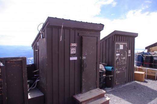 Restrooms at Camp Muir.