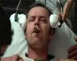 McMurphy receiving EC treatment in film